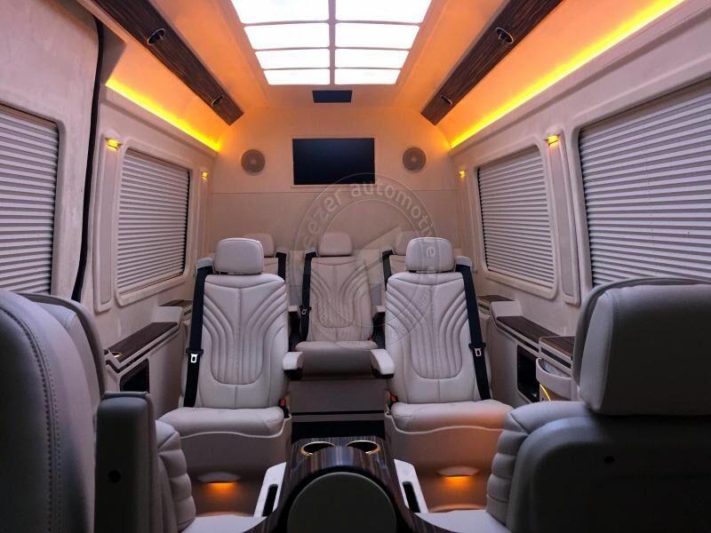 fourgonnette de tourisme MERCEDES-BENZ Sprinter 316 319 416 419 516 519 Lüx Vip neuve