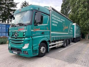 camion bâché MERCEDES-BENZ 2545 L 6X2 ACTROS / EURO 6