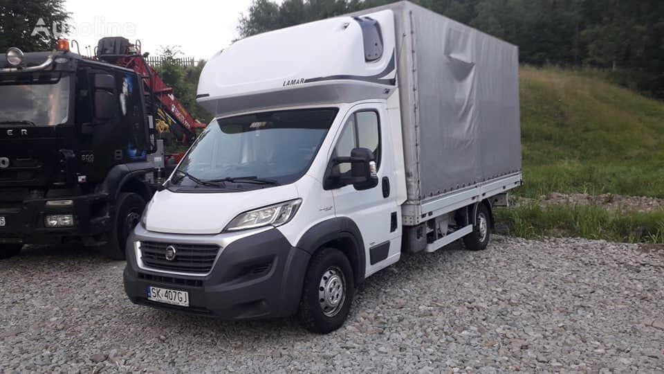 camion bâché FIAT DUCATO 3.0 180KM 10euro palet