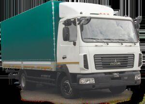 camion bâché MAZ 437121 neuf