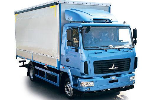 camion bâché MAZ 4381C0 neuf