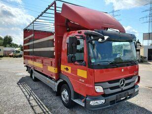 camion bâché MERCEDES-BENZ Atego II 818L