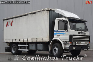 camion bâché SCANIA 93M 230