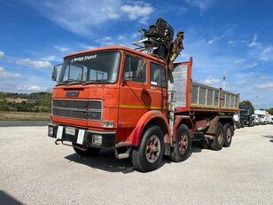 camion-benne FIAT IVECO 691 N ribaltabile gru