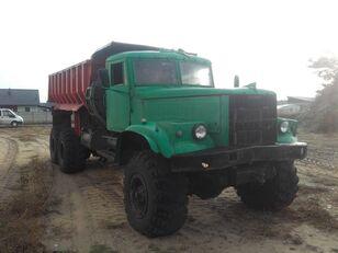camion-benne KRAZ 255B,  6x6, Full Steel