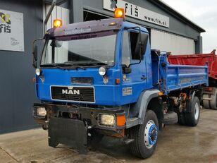 camion-benne MAN 18.264 pour pièces détachées