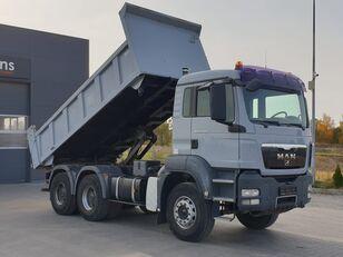 camion-benne MAN TGS 33.360 / 6x4 / Hydroburta / Manual / 3 -strony Wywrot / Spro