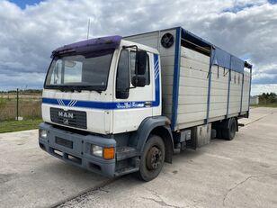camion bétaillère MAN 14.224 4x2 Animal transport