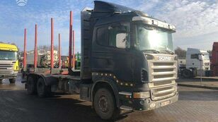 camion forestier SCANIA R470, timber trucks