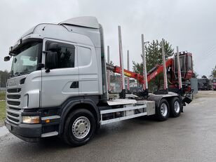 camion forestier SCANIA R480
