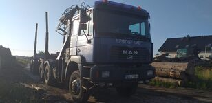 camion forestier MAN Fe 460 6x6