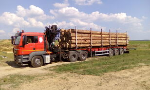 camion forestier MAN TGS 26.480 6x4 BB