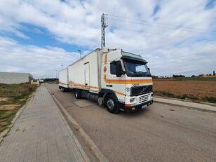 camion fourgon VOLVO FH12 380 + remorque
