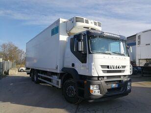 camion frigorifique IVECO STRALIS 260S36 6X2 CELLA FRIGO 9 METRI, THERMOKING, PEDANA 2 TON