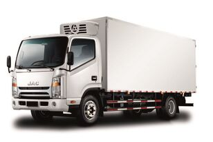 camion frigorifique JAC Изотермический фургон с ХОУ JAC N 80 neuf