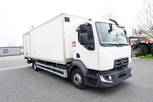 camion isotherme RENAULT D12 , E6 , 4x2 , Box 18 EPAL side door  , tail lift Dhollandia