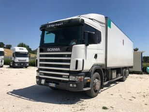 camion magasin SCANIA R114 380 motrice 3 assi