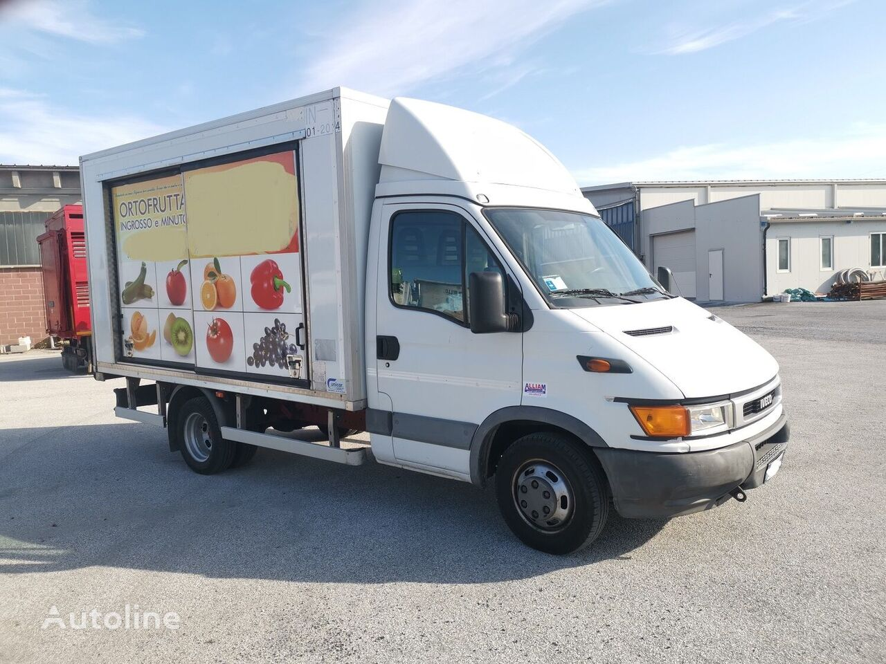 camion magasin IVECO DAILY 50C15 Coibentato (Mercato)
