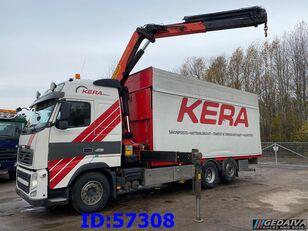 camion plateau VOLVO FH13 460 6x2 Palfinger Euro5