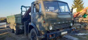 camion plateau KAMAZ 5320+KRANAS