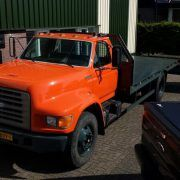 camion porte-voitures FORD F800