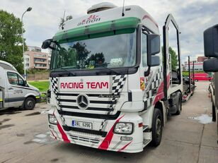 camion porte-voitures MERCEDES-BENZ Actros + Lohr + návěs na přepravu automobilů