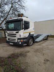 camion porte-voitures SCANIA P400 ASSISTANCE TRUCKS TRANSPORT