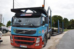 camion porte-voitures VOLVO FM 460 + LOHR 1.22 + remorque porte-voitures