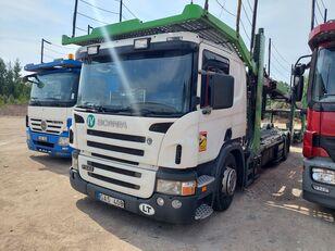 camion porte-voitures SCANIA P340