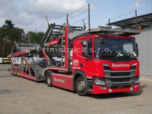 camion porte-voitures SCANIA P450 Járműszállító csörlővel