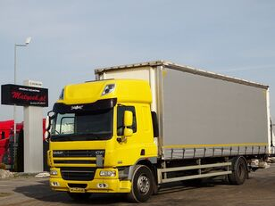 camion rideaux coulissants DAF CF 75.310 / CURTAINSIDER - 8,6 M / ELEVATOR / MANUAL / SLEEP CAB