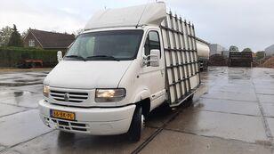 camion transport de verre RENAULT Mascott 130-35  Double Tires