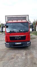 camion transport de volailles MAN
