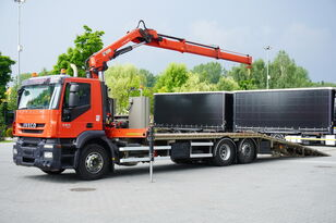 dépanneuse IVECO Stralis 360, EEV, 6x2, 7.8m tow truck, lift axle , CRANE HIAB ma