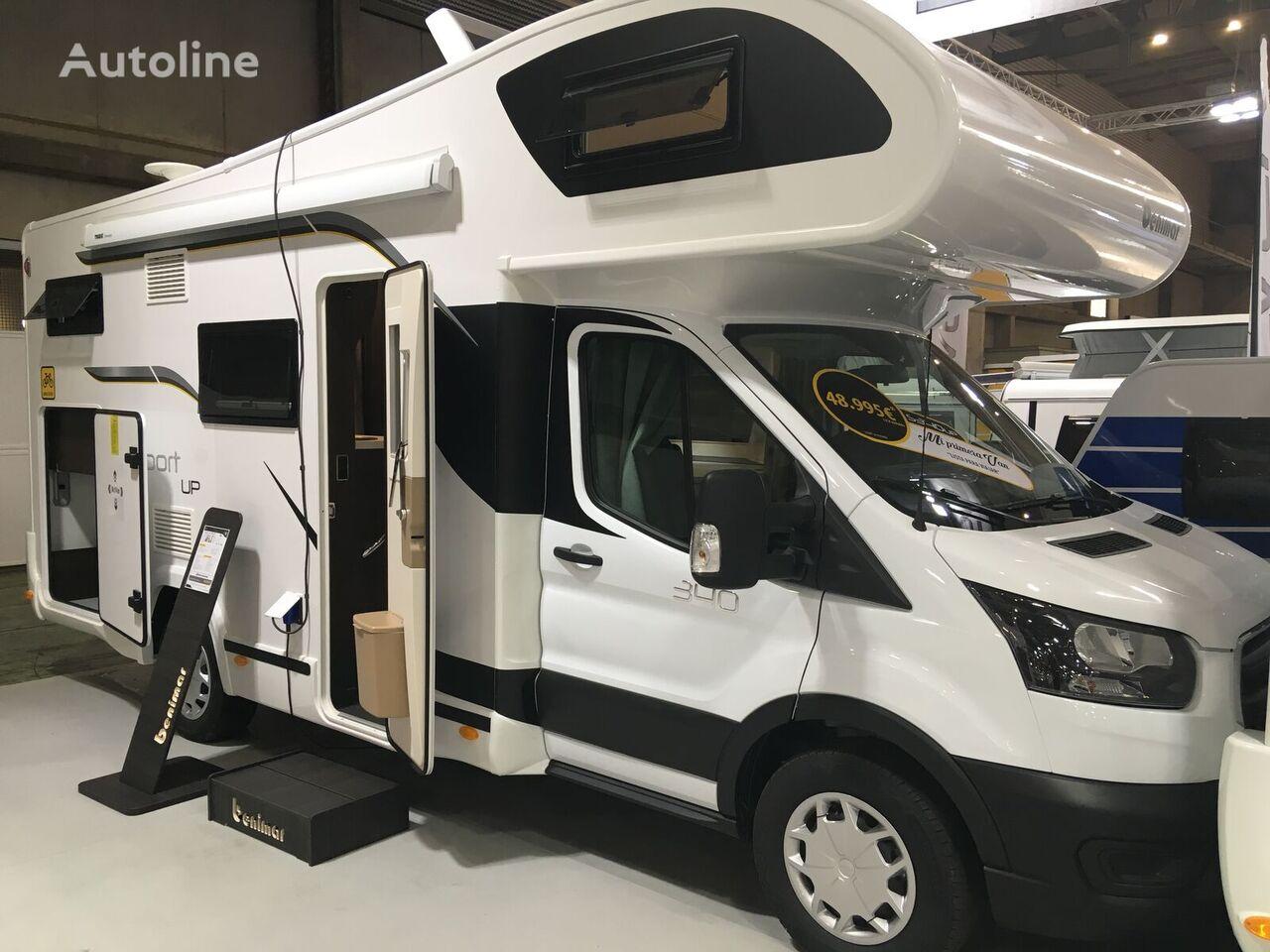 camping-car à capucine Benimar Ford,Sport 340 UP-5 locuri model 2021,Transport inclus! neuf