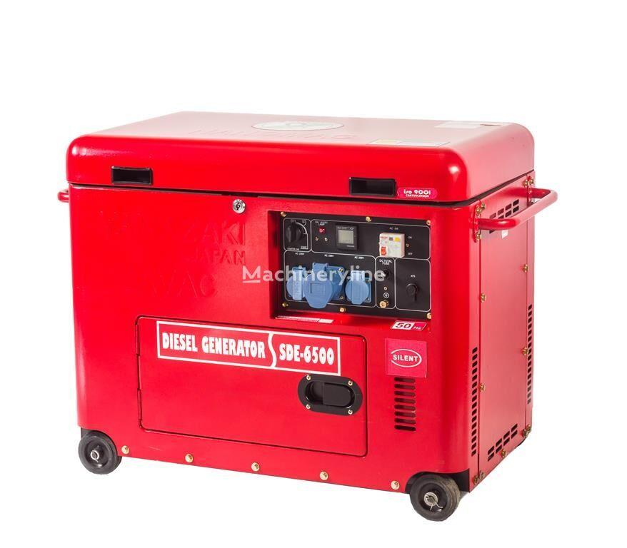 générateur diesel JAVAC 6,3 KVA, SD6500B Generator 230/380v 50hz neuf