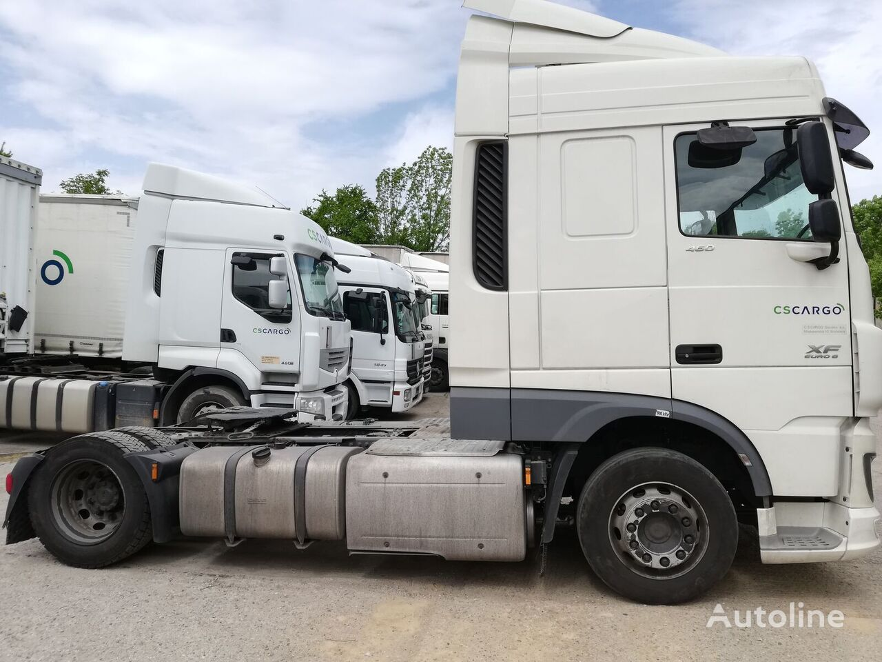 tracteur routier DAF XF 460 FT - lowdeck