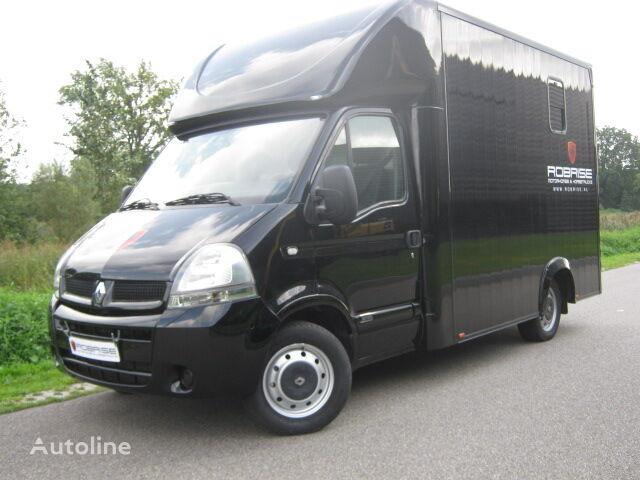 transport de chevaux RENAULT Master Paardenvrachtwagen B Rijbewijs